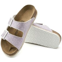 DCCK3 Sale Birkenstock Arizona Birko Flor Beach Purple 1004243 Sandals
