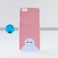 Cute Pink Disney iPhone 6 Baymax Hard Phone Case