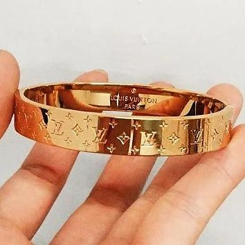 Louis Vuitton LV Classic Fashionable Bracelet Women Men Bracelet