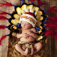 Newborn Baby Girls Boys Crochet Knit Costume Photo Photography Prop = 4457465092