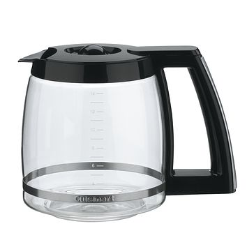 Cuisinart DCC-2200RC 14-Cup Replacement Glass Carafe, Black 14 Cup
