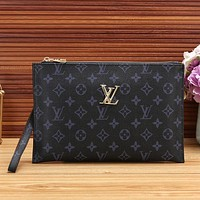 Louis Vuitton LV Women Fashion Clutch Bag Handbag Tote Satchel