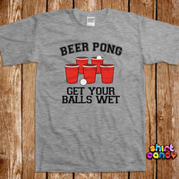 Beer Pong Tshirt Bar College Pub Frat Party Drinking Tee Shirt University Flip Cup Champion St. Patty's Humor College Drunk Club Cool Geek