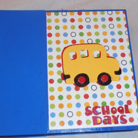 6x6 School Scrapbook Photo Album