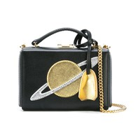 Mark Cross Black & Gold 'Planet Cut Out' Clutch - Black & Gold 'Planet Cut Out' Clutch