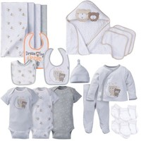 Newborn Baby Boy or Girl Unisex Layette Essentials Gift Set, 23pc - Walmart.com