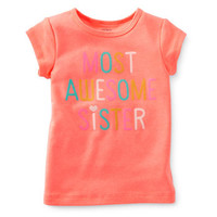 Most Awesome Sister Tee