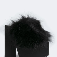 DREAM FUR SANDAL