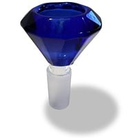 14mm Male Blue Diamond Herb Holder