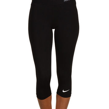 Nike Pro Core II Compression Capri Black/CoolGrey - Zappos.com Free Shipping BOTH Ways
