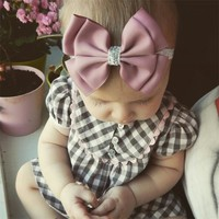 Baby Girl Star Headband Bow