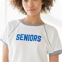 Camp Collection Seniors Ringer Sweatshirt