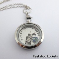 LDR -Worth every mile - Long Distance Relationship Floating Locket Bundle and Charms