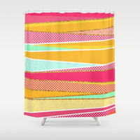 Patchwork Shower Curtain by Kakel