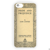 Book Cover Pride And Prejudice For iPhone 5 / 5S / 5C Case