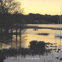 Lake Hollingsworth Sunset Photographic Print