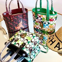 Onewel Coach latest double-sided shopping bag print mini bag