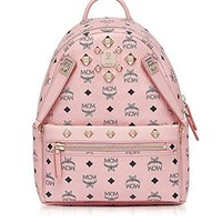 Mcm Women's MMK7AVE80PZ001 Pink Pvc Backpack  mcm