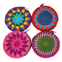 Round Coin Purse - Guatemala
