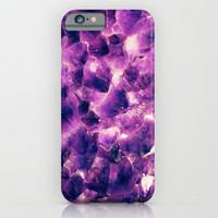 AMETYST - for iphone iPhone & iPod Case by Simone Morana Cyla