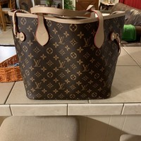 Louis Vuitton Neverfull GM Monogram Beige M40990 Handbag