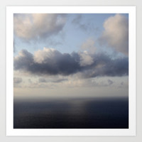 room with a view - day 3 Art Print by Steffi Louis Finds&art