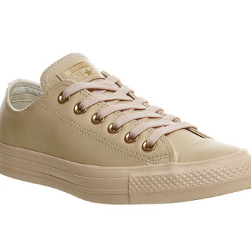Star Low Leather Pastel Rose