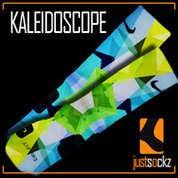 Custom Nike Elite Socks : Kaleidoscope