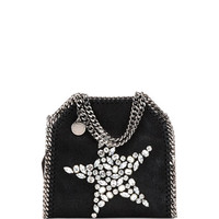 Stella McCartney Falabella Tiny Star Shoulder Bag, Black