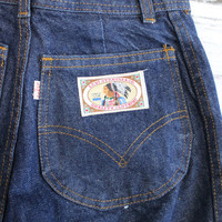 Deadstock Levis High Waist Vintage Jeans with Indian Chief Tag