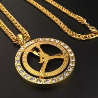 Stylish New Arrival Gift Jewelry Shiny Hot Sale Fashion Accessory Club Necklace [6542718723]