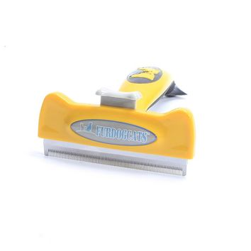 Pet Grooming Brush Effectively Reduces Shedding By Up To 95% Professional Deshedding Tool For Dogs And Cats [107636523033]