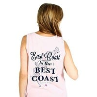 East Coast Is The Best Coast Tank in Blossom by Jadelynn Brooke