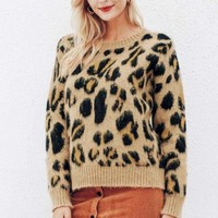 Kanga Leopard Sweater