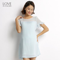 Loveincolors New Fashion Pregnancy Women Dress Chiffon Summer Breathable Soft Solid Pregnant Sashes Maternity Women Dress