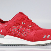 Asics Men's Gel Lyte III 3 Puddle Pack - Red Suede