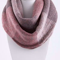 Pink and Lavender Infinity Scarf