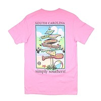 States South Carolina Tee by Simply Southern