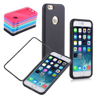 TPU Wrap Up Case Cover Built-in Screen Protector for Apple iPhone 6 4.7Inch = 1845642500