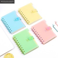 1Pc Notebook 13*9cm Size 2017 Planner Sketchbook Diary Note Book Kawaii Journal Stationery School Supplies Supplies School Tools