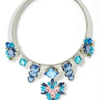 Ice Flare Collar Necklace