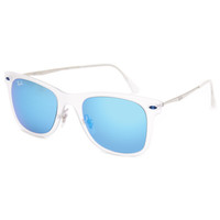 Ray-Ban Wayfarer Light Ray Sunglasses Clear One Size For Men 25614990001