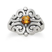 Spanish Lace Ring with Citrine | James Avery