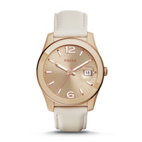 Perfect Boyfriend Toasted Almond Leather Watch