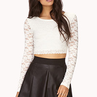 Edgy Faux Leather Skater Skirt