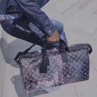 KUYOU 2019 Louis Vuitton star collection KEEPALL 50B travel bag bucket bag