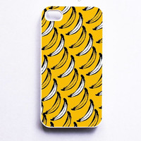 Banana Pattern Phone Case For iPhone Samsung iPod Sony