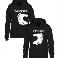 forever together matching couple sweatshirt - Couple hoodie