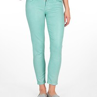 7 For All Mankind Neon Skinny Stretch Cropped Jean