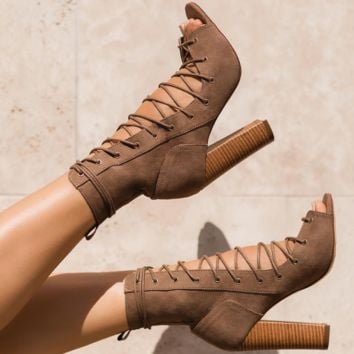 Hot style hot selling strappy boots with thick heels Roman cool